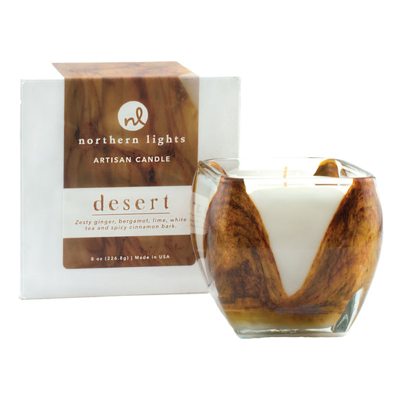 Northern Lights Candles / Cascade - Desert