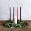 Northern Lights Candles / Advent Tapers