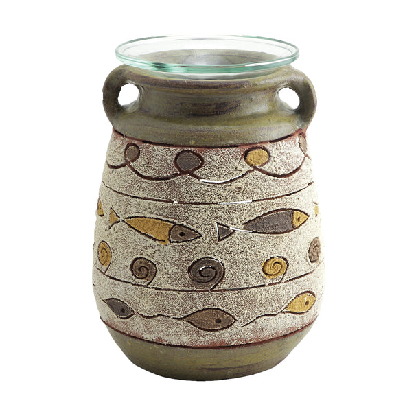 Northern Lights Candles / Red River Wax Chip Burner - Amphora