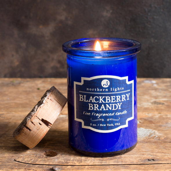 Northern Lights Candles / Spirit Jar - Blackberry Brandy
