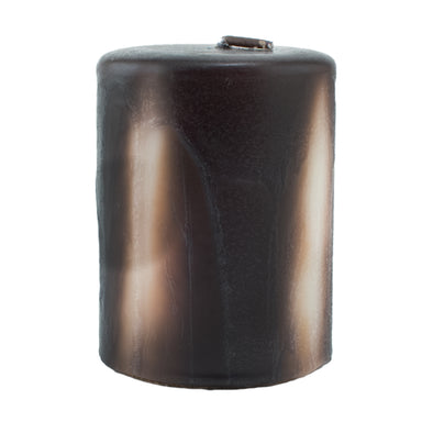 Northern Lights Candles / Embers Round Pillar 3x4 - Ebony