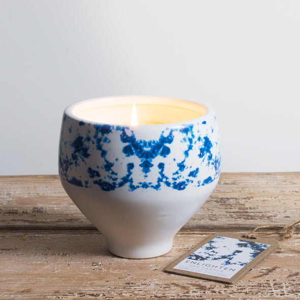 Northern Lights Candles / Shibori - Enlighten
