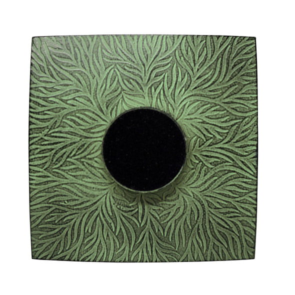 Kobe - Rustic Green Plate - Northern Lights Candles