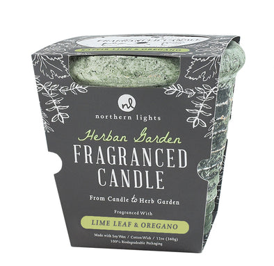 Northern Lights Candles / Herban Garden - Lime Leaf & Oregano