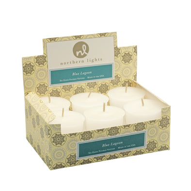 Northern Lights Candles / Jubilee Votives - Blue Lagoon