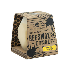 Northern Lights Candles / Bee Hive - Lemon & Honey