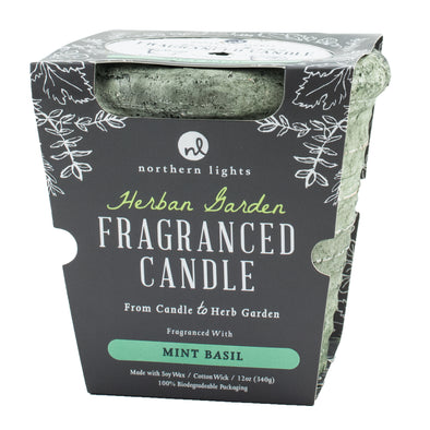 Northern Lights Candles / Herban Garden - Mint Basil