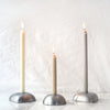 Northern Lights Candles / Nove - Round Pewter