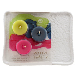Fragrance Votive Tray - Northern Lights Candles