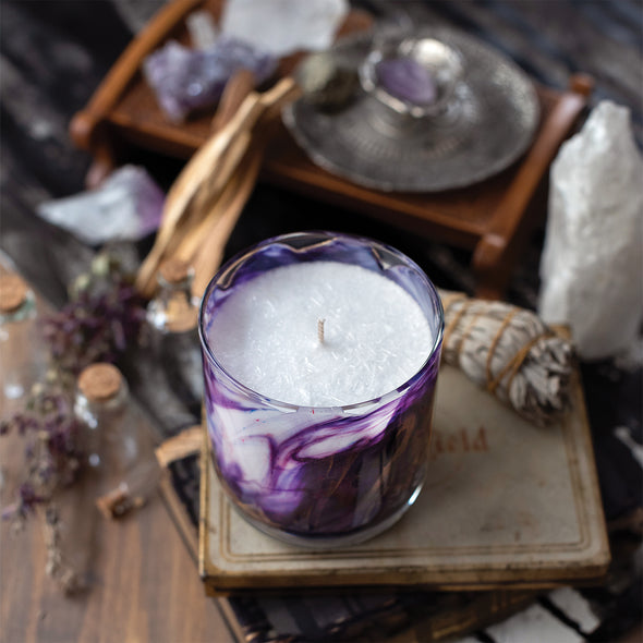 Northern Lights Candles / Meditation - Lotus Bloom