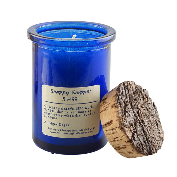 Northern Lights Candles / Spirit Jar - Whiskey & Tobacco