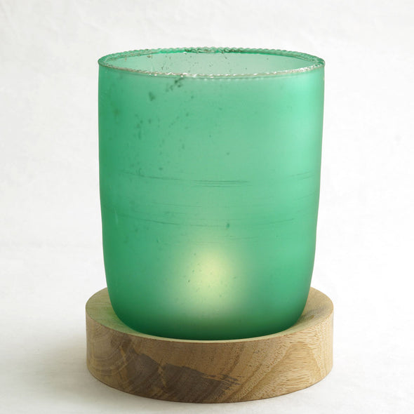 Northern Lights Candles / Hurricane - Aqua