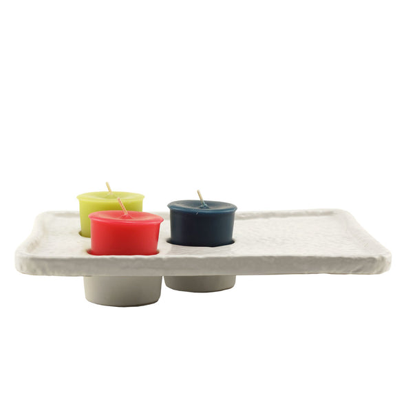 Northern Lights Candles / Fragrance Votive Tray