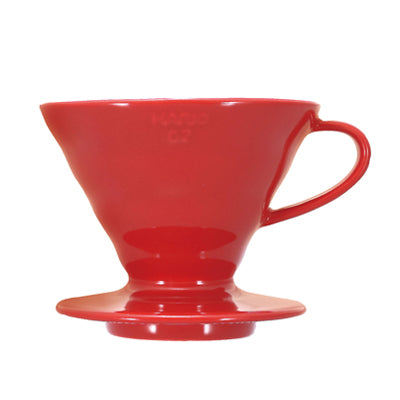 Red V60 Ceramic Coffee Dripper 02