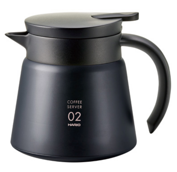 V60 Insulated Black Stainless Steel Server