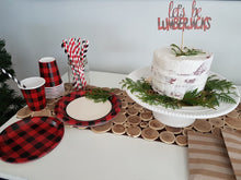 Let's be lumberjacks. Party in a box. - Little Rose Party Company