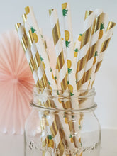 Aloha straw mix - Little Rose Party Company