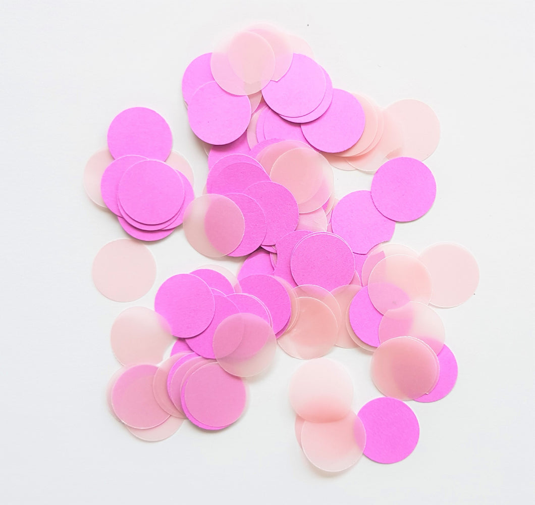 Classic circle confetti - Little Rose Party Company