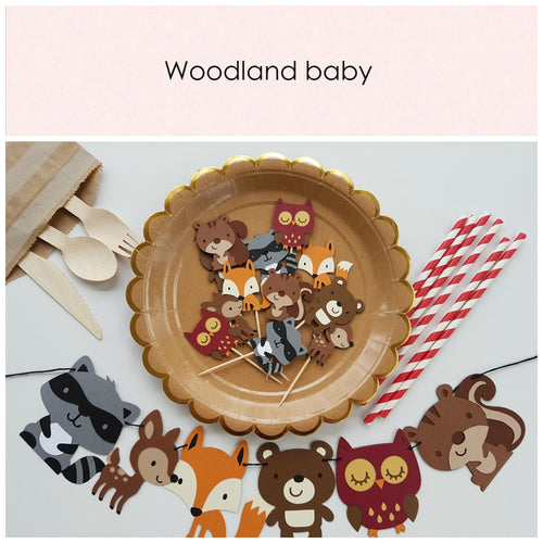 Woodland baby - Little Rose Party Company