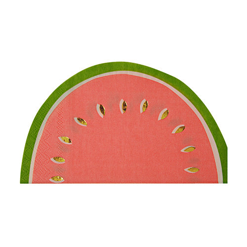 Watermelon napkin - Little Rose Party Company