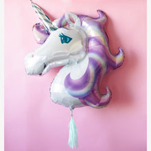 Pastel unicorn balloon - Little Rose Party Company