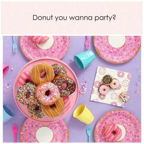 Donut you wanna party?! Party in a box. - Little Rose Party Company
