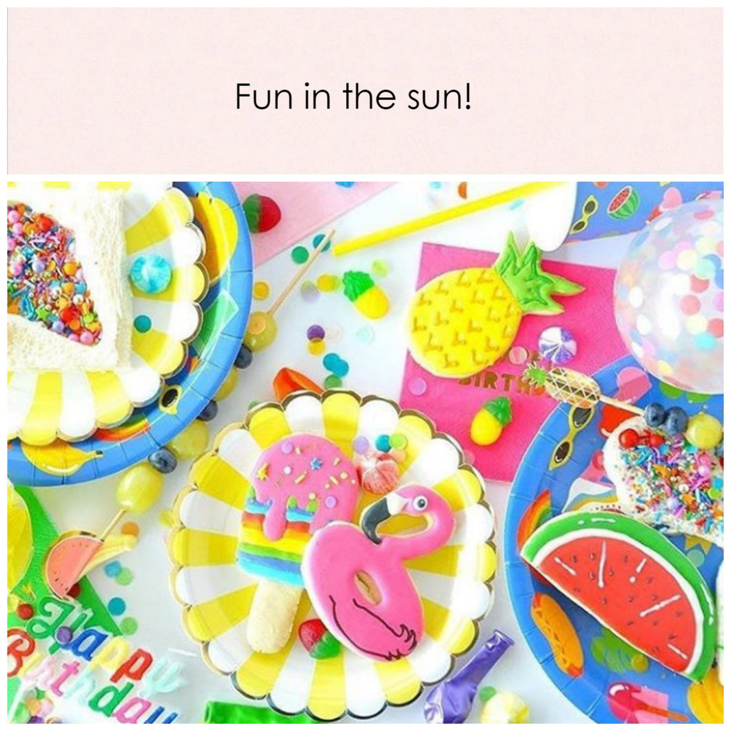 Fun in the sun! Party in a box. - Little Rose Party Company