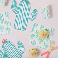 Cactus napkins - Little Rose Party Company