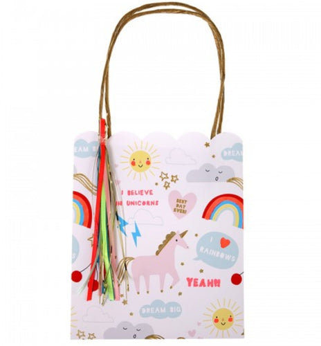 Rainbow and Unicorn treat bags - Little Rose Party Company