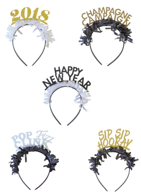 NYE Party headbands - Little Rose Party Company