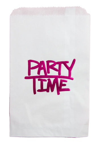 Party Time goody bags - Little Rose Party Company