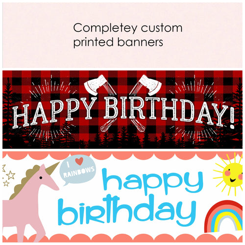 Custom printing - Little Rose Party Company