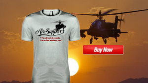 Military t-shirts designed by former Army Ranger for veterans