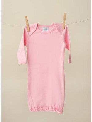 Pink Baby Girl Outfit with Personalization