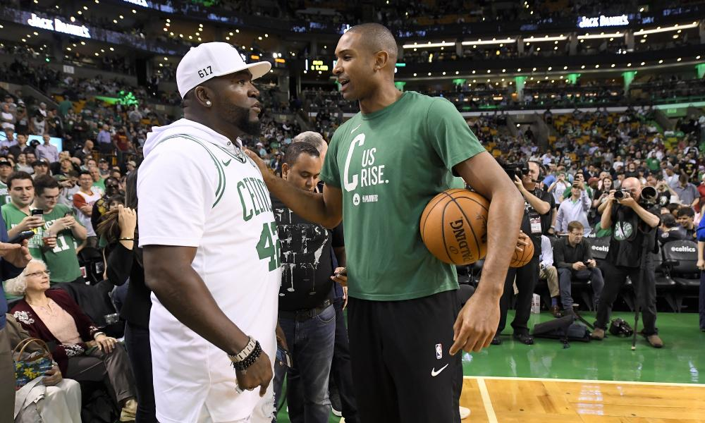 The bond between David Ortiz and Al Horford goes well beyond Boston