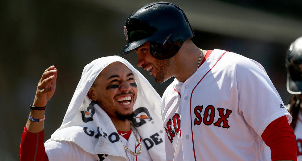 Red Sox deja vu trip to the past with Mookie Betts, J.D. Martinez