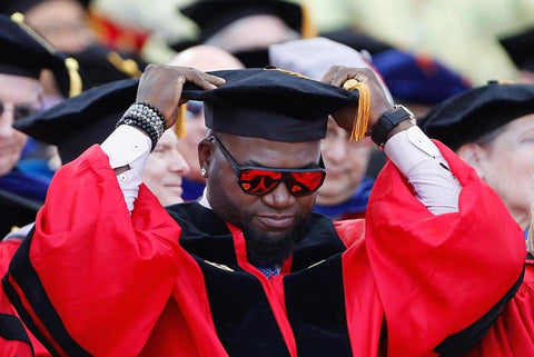 David Ortiz receives honorary degree from Boston University