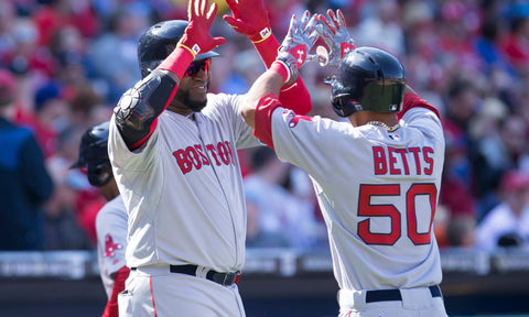 Mookie Betts opens up about David Ortiz's absence: 'This year has been rough'