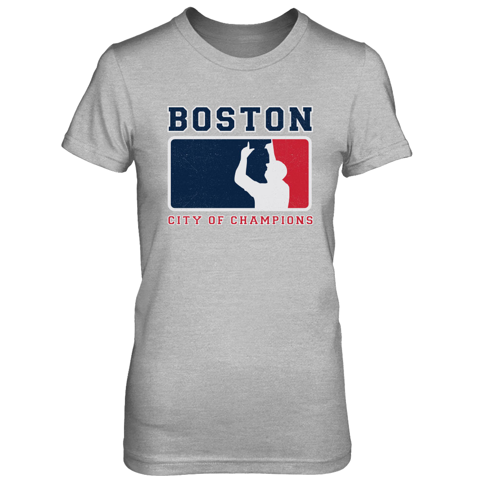 Women's Boston City Of Champions Tee