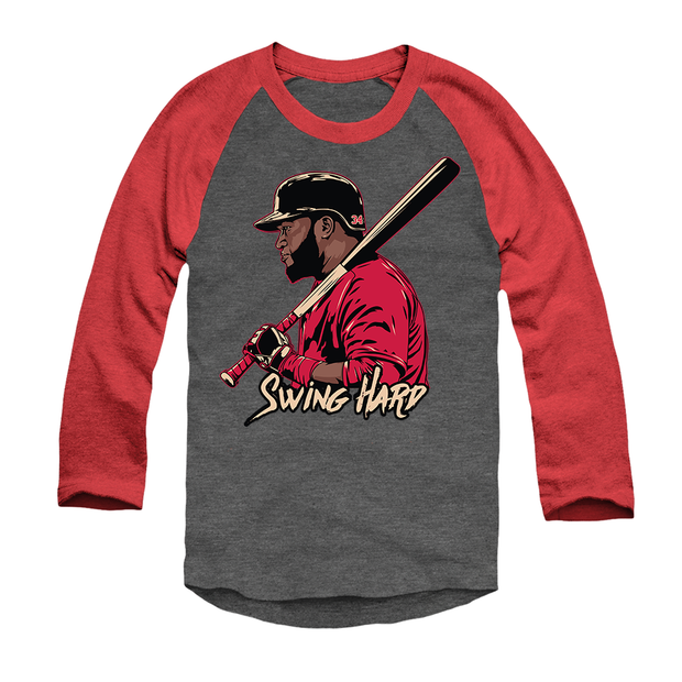 Swing Hard Raglan