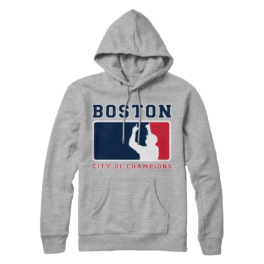 Boston City Of Champions Hoodie