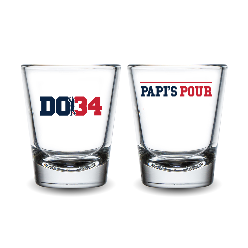 Papi's Pour Shot Glass Set