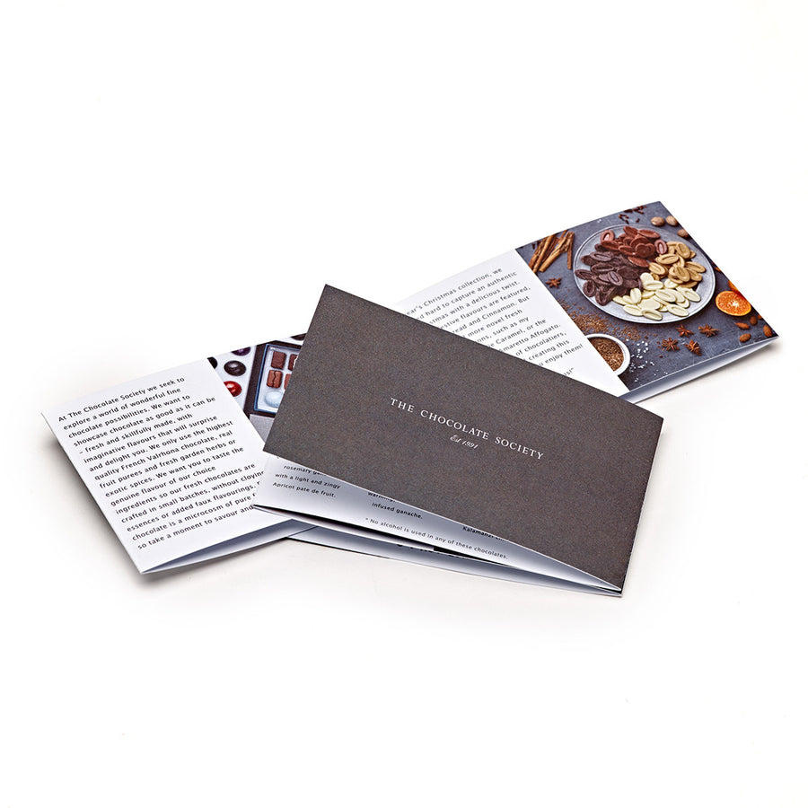 image of chocolate brochure