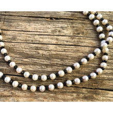 """Theo"" Spinel's & Pearls Necklace"