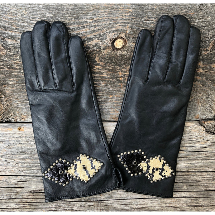 Teresa Leather Gloves