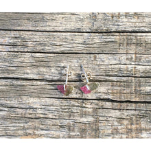 """ Kathy""  Studs in the Raw. Tourmaline or Pyrite"