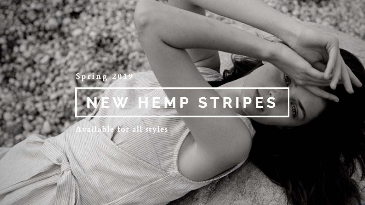 Coming soon - new hemp stripes