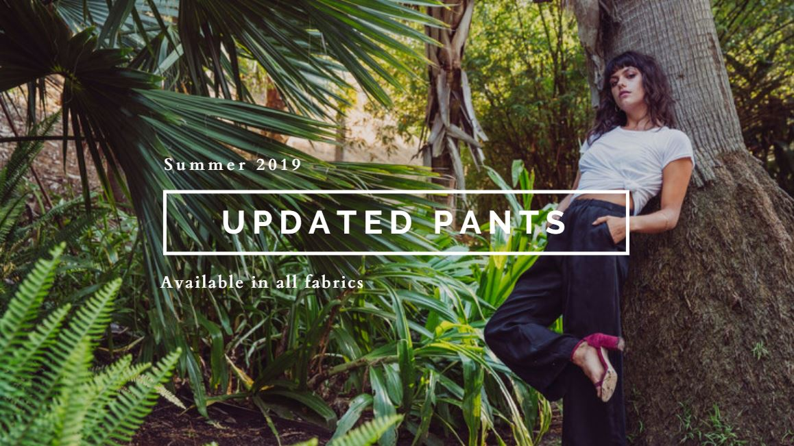 Coming soon - pants