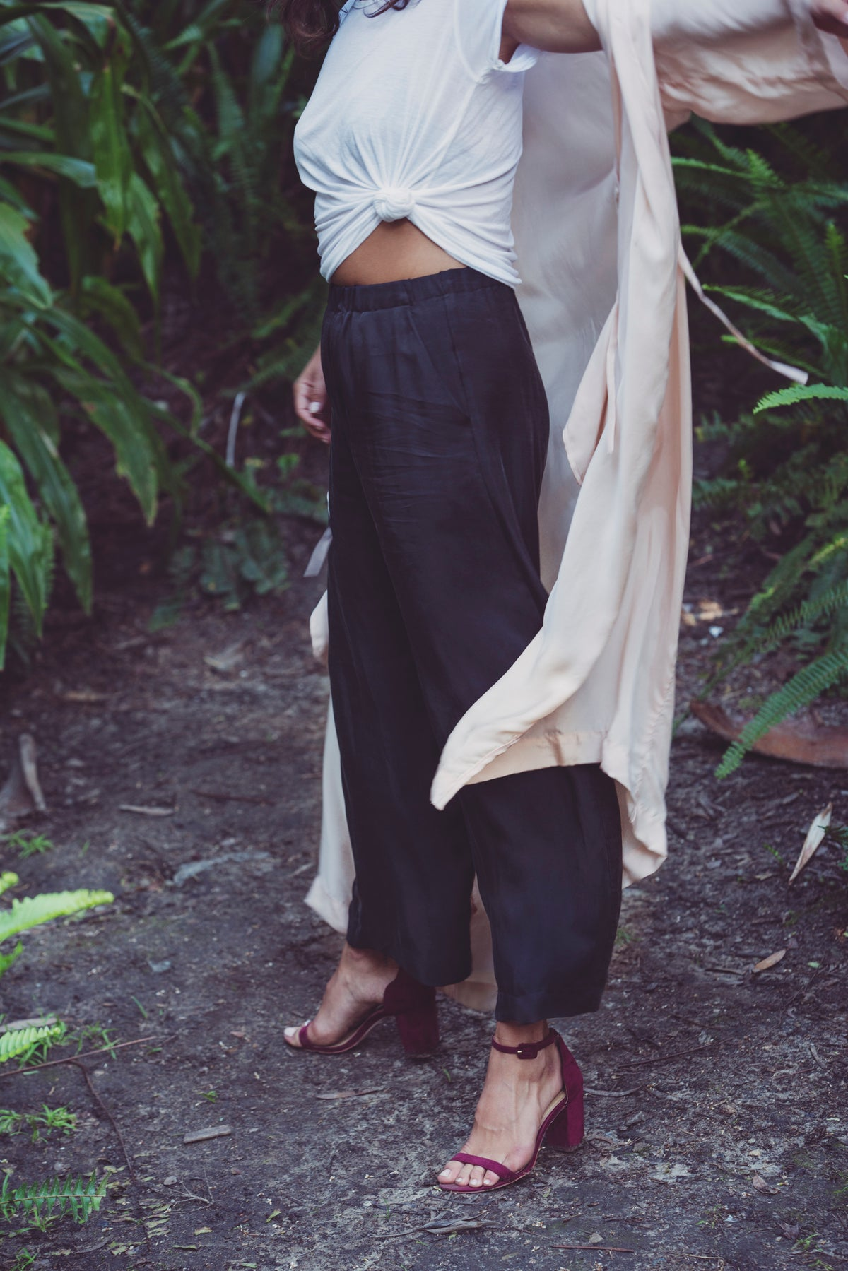 Juno Wide Leg Ankle Pant