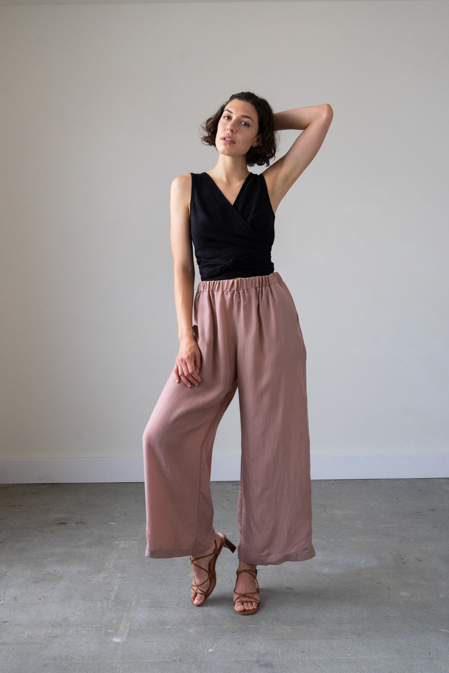 Juno Pants in Cupro